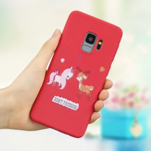 Frosted Pattern TPU Protective Case for Galaxy S9(Lovers)