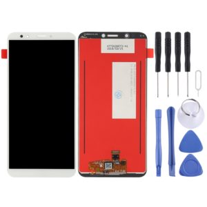 LCD Screen and Digitizer Full Assembly for Huawei Enjoy 8 / Nova 2 Lite / Y7 (2018)(White)