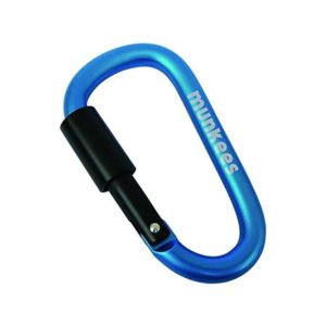 MUNKEES CARABINER WITH SCREW LOCK8 MM (3262)