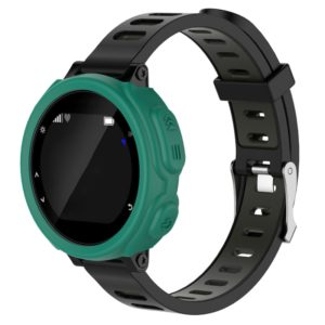 Solid Color Silicone Watch Protective Case for Garmin F235 / F750(Mint Green)