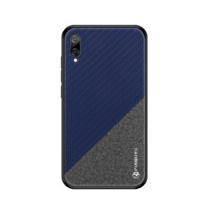 PINWUYO Honors Series Shockproof PC + TPU Protective Case for Huawei Enjoy 9 (Global Official Version) / Y7 Pro 2019(Blue) (PINWUYO)
