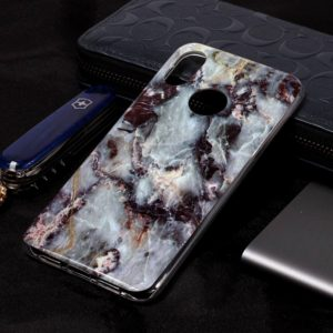 Marble Pattern Soft TPU Case For Xiaomi Mi 8(Grey)