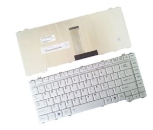 Πληκτρολόγιο Ελληνικό-Greek Laptop TOSHIBA L300 L300D L305D L450 L450D L455 L455D PK1301906E0 KFRSBL064A M300 M305 M310 MP-06866GR-9204 AEBL5500150-GK GREEK WHITE KEYBOARD (Κωδ.40018GRGREY)