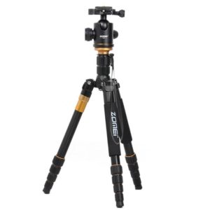ZOMEI Z699 Portable Professional Travel Aluminium Material Tripod Monopod with Ball Head for Digital Camera