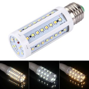 10W Section Dimmable Corn Light Bulb, E27 56 LED SMD 2835, AC 85-265V
