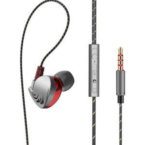 QKZ CK7 Fashion Sports Bass Music Headphones (Grey) (QKZ)