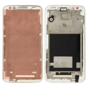 Middle Frame Bezel for LG G2 / D800(White)