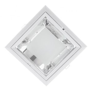 LED ΣΠΟΤ GL204 + 2XLED STICKS 9W 4000K ΛΕΥΚΟ 92204LEDW/W