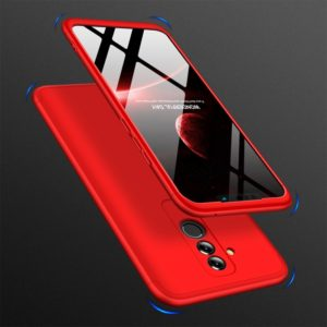 GKK Three Stage Splicing Full Coverage PC Case for Huawei Mate 20 Lite / Maimang 7(Red) (GKK)