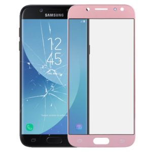 Front Screen Outer Glass Lens for Galaxy J5 (2017) / J530(Rose Gold)