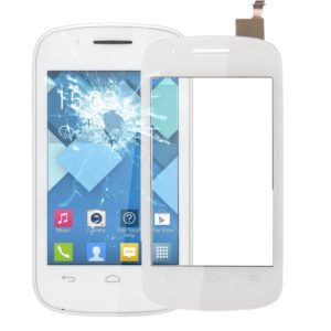 Touch Panel for Alcatel OneTouch Pop C1 / 4015(White)