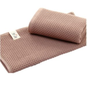 Soft Absorbent Cotton Towel(Coffee)