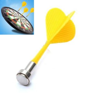 10 PCS Magnetic Darts With Strong Magnetic Attraction To Stabilize Children s Darts(Random Color)