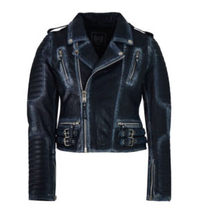 ALMA LIBRE Leather Jacket Γυναικείο - Vintage Μαύρο (ALMGLW19-318)