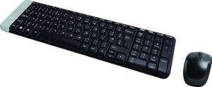 Logitech MK220 Combo GR Black, Wireless Keyboard - Mouse/ 920-003157
