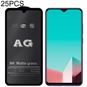 25 PCS AG Matte Frosted Full Cover Tempered Glass For Vivo S1 Pro