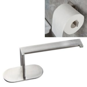 Bathroom Wall-mounted Waterproof Square Paper Tissue Roll Stand Holder