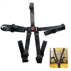 Five-point Child Safety Belt For Baby Stroller Seat Belt