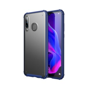 For Huawei P30 Lite Four-corner Shockproof TPU + PC Protective Case(Blue)