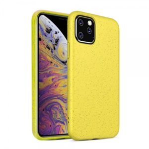 FOREVER BIOIO CASE IPHONE 11 PRO MAX yellow backcover