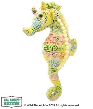 All About Nature Λούτρινο Κουκλάκι Sea Horse 25cm K7499