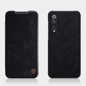 NILLKIN Crazy Horse Texture Horizontal Flip Leather Case for Xiaomi Mi 9 SE, with Card Slot (Black) (NILLKIN)