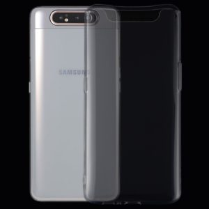 0.75mm Ultrathin Transparent TPU Soft Protective Case for Galaxy A80