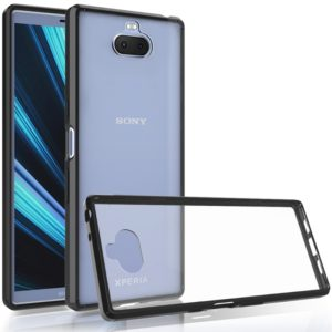 Scratchproof TPU + Acrylic Protective Case for Sony Xperia 10(Black)