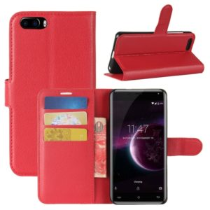For CUBOT Magic Litchi Texture Horizontal Flip Leather Case with Holder & Card Slots & Wallet (Red)