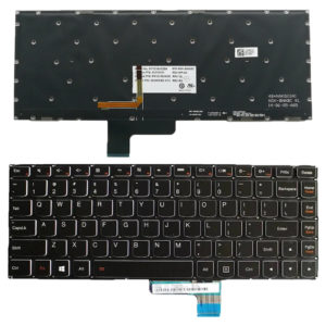 Πληκτρολόγιο Laptop - Keyboard for LENOVO P/N: 25215032 25215063 SN20G60046 SN20G60083 SN20G91264 SN20G91247 MP-12W23USJ686 ST1C3B-US MP-12W2 CHICONY P/N: MP-12W23USJ686 MP-12W2 (Κωδ. 40474USBACKLIT)