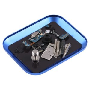 Aluminium Alloy Screw Tray Phone Repair Tool(Blue)