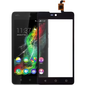 Touch Panel for Wiko Rainbow Lite(Black)