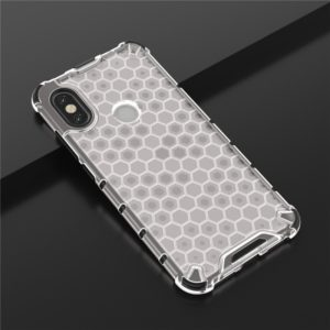 For Galaxy A20s Shockproof Honeycomb PC + TPU Case(White)