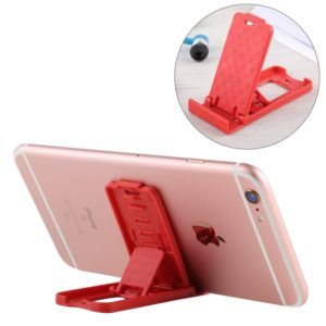 Mini Universal Adjustable Foldable Phone Desk Holder, For iPhone, iPad, Samsung, Huawei, Xiaomi other Smartphones and Tablets, Random Color Delivery