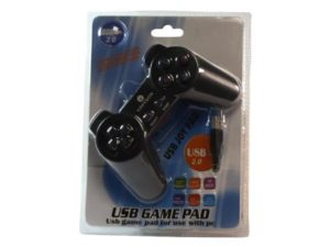 Vinyson USB Game Controller for PC Black