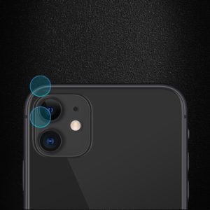 For iPhone 11 2PCS mocolo 0.15mm 9H 2.5D Round Edge Rear Camera Lens Tempered Glass Film (mocolo)