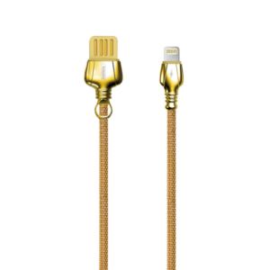 Data cable Remax King RC-063o, iPhone Lightning (iPhone 5/6/7), 1.0m, Different colors - 14915