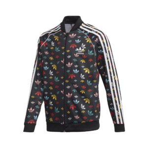 Adidas Originals Superstar Track Jacket Μαυρο - Πολυχρωμο