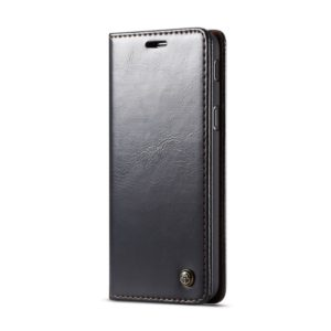 CaseMe-003 Series Horizontal Flip PC + PU Leather Case for Galaxy A8 (2018), with Magnetic Buckle & Holder & Card Slot & Wallet (CaseMe)