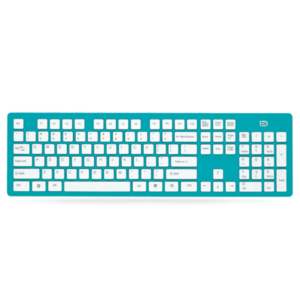 Keyboard D K3, Wireless, Blue - 6114