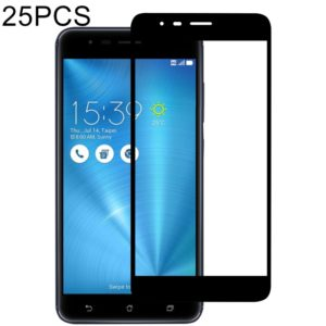 25 PCS Full Glue Full Screen Tempered Glass Film for Asus ZOOM 3 ZE553KL