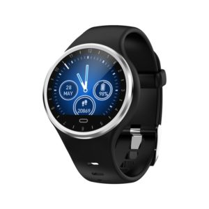M8 1.22 inch TFT Color Screen IP67 Waterproof Smart Watch, Support Call Reminder /Heart Rate Monitoring /Blood Pressure Monitoring /Sleep Monitoring (Black)