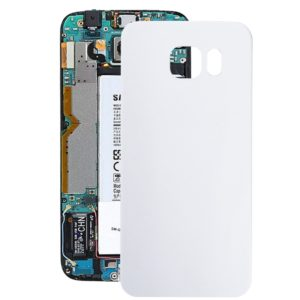 Battery Back Cover for Galaxy S6 Edge / G925(White)