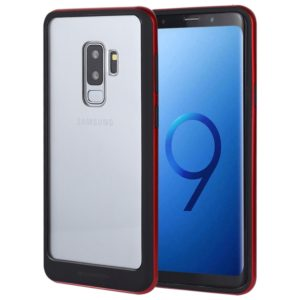 GOOSPERY New Bumper X for Galaxy S9+ PC + TPU Shockproof Hard Protective Back Case (Red) (GOOSPERY)