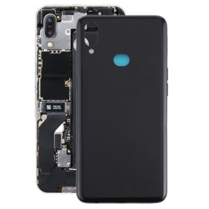 Battery Back Cover with Side Keys for Galaxy A10s(Black)