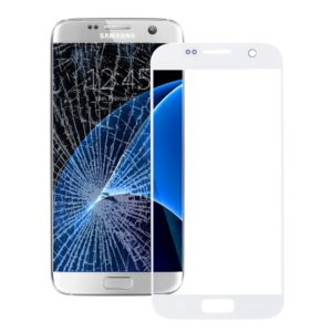 Front Screen Outer Glass Lens for Galaxy S7 / G930(White)