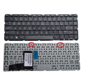 Πληκτρολόγιο Laptop HP MP-13M53GR-698 MP13M5 PK131AC2A02 757922-151 US LAYOUT (Κωδ.40331USNOFRAME)