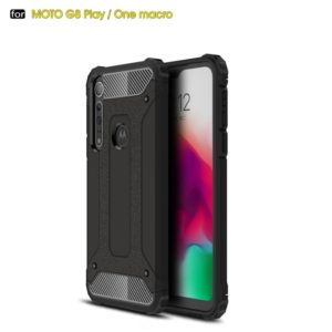 For Moto G8 Play Magic Armor TPU + PC Combination Case(Black)