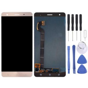 LCD Screen and Digitizer Full Assembly for Asus ZenFone 3 Deluxe / ZS570KL / Z016D(Gold)