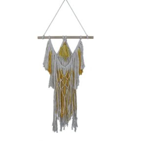 Knit Bohemian Handmade Cotton Tassel Tapestry Living Room Decorative Pendant